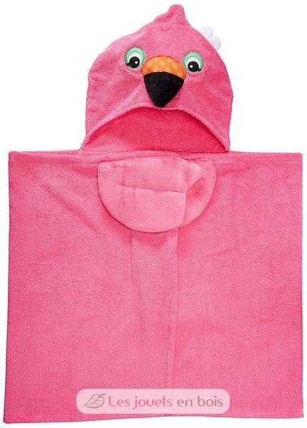 cape de bain franny le flamant rose une serviette de bain pour enfant. Black Bedroom Furniture Sets. Home Design Ideas